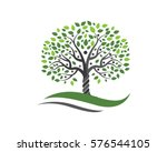 family tree symbol icon logo... | Shutterstock .eps vector #576544105