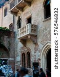 The Famous Balcony Of Juliet ...