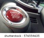 image of push start or stop... | Shutterstock . vector #576554635