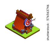 isometric medieval archers...
