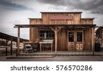 Old Building On Wild West