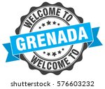 grenada. welcome to grenada... | Shutterstock .eps vector #576603232