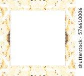 rectangular frame of... | Shutterstock . vector #576610006