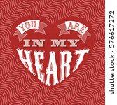 calligraphic logo lettering you ... | Shutterstock .eps vector #576617272