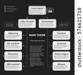 organization chart template... | Shutterstock .eps vector #576621718