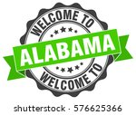 alabama. welcome to alabama... | Shutterstock .eps vector #576625366