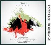dancing people | Shutterstock .eps vector #576626716