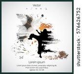 karate | Shutterstock .eps vector #576626752