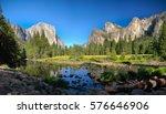 el capitan in yosemite park  usa | Shutterstock . vector #576646906