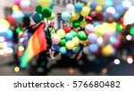 Small photo of Abstract, blurry, bokeh background, image for the background. The movement, the LGBT community