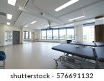 hospital physiotherapy room | Shutterstock . vector #576691132