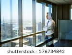 confident young businessman... | Shutterstock . vector #576734842