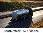 truck on the road | Shutterstock . vector #576736426