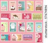 Sweet Postage Stamps