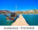 camel beach in bitez  bodrum ... | Shutterstock . vector #576761818