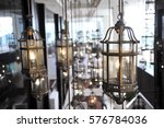 hanging lamp | Shutterstock . vector #576784036