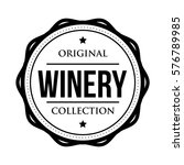 winery logo vintage isolated... | Shutterstock .eps vector #576789985