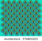 abstract geometric pattern of... | Shutterstock .eps vector #576801025