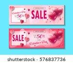 sale discount banner for... | Shutterstock .eps vector #576837736