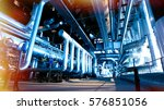 industrial zone  steel... | Shutterstock . vector #576851056