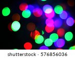 abstract  colorful bokeh... | Shutterstock . vector #576856036