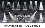 collection scene illumination... | Shutterstock .eps vector #576858886