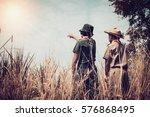 scouts. | Shutterstock . vector #576868495