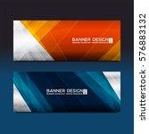 web banner template for... | Shutterstock .eps vector #576883132
