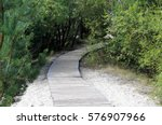 Wooden Path To Above Beach San...