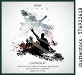 music background ready for... | Shutterstock .eps vector #576922618
