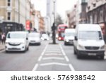cars  white vans driving on a...   Shutterstock . vector #576938542