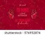 vintage typography vector... | Shutterstock .eps vector #576952876