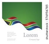 new brochure abstract design... | Shutterstock .eps vector #576956785