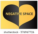 isolated vector sign of heart ... | Shutterstock .eps vector #576967726