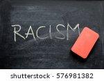 Erasing Racism  Hand Written...