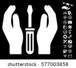 tuning screwdriver care hands... | Shutterstock .eps vector #577003858