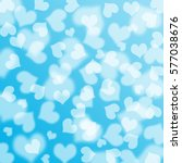 heart bokeh background  love... | Shutterstock . vector #577038676