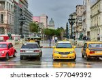 havana  cuba   january 7  2016  ... | Shutterstock . vector #577049392