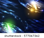 abstract technology background | Shutterstock .eps vector #577067362