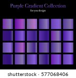 purple gradient collection for... | Shutterstock .eps vector #577068406