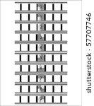 film countdown vector | Shutterstock .eps vector #57707746