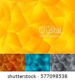 crystal abstract background ...