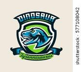 colourful emblem  logo  label...   Shutterstock .eps vector #577108042
