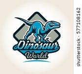 colourful emblem  logo  label... | Shutterstock .eps vector #577108162