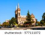 batumi  georgia. the church of... | Shutterstock . vector #577111072