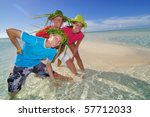 mother and siblings   Shutterstock . vector #57712033