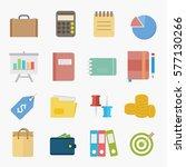 business icon design vector. | Shutterstock .eps vector #577130266