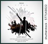 music event background for... | Shutterstock .eps vector #577143022