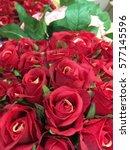 red rose bouquet | Shutterstock . vector #577145596