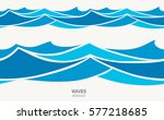 marine seamless pattern with... | Shutterstock .eps vector #577218685